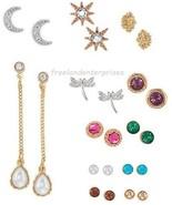 Earring Good Vibes Earring Pack ~ 12 Pair/Sets Pierced Earrings ~  ~ NEW... - $23.71