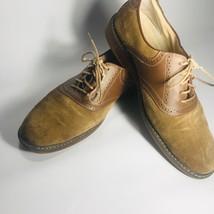 9fa3ad3a9ef9 G.H. Bass  amp  Co Mens Saddle Shoes. Tan Leather Sz 10D -  49.50