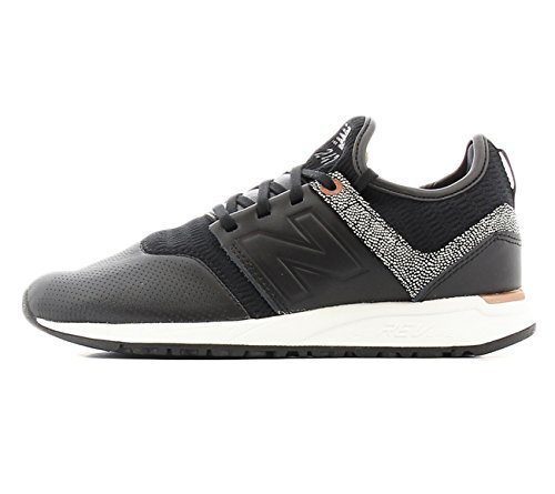 New Balance Women's WRL247GY, Black, 6 B US