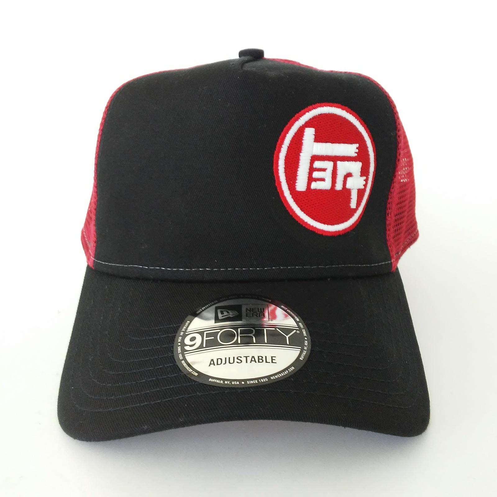 d18956711ce 20170404 142240. 20170404 142240. New Era 9forty TACOMA TEQ TOYOTA VINTAGE  BLACK RED TRUCKER HAT CAP SNAPBACK