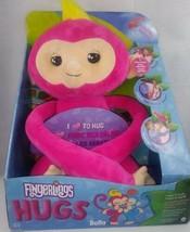 Bella Fingerlings Hugs Interactive Pink Plush Baby Monkey - $20.00