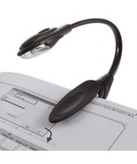 Mini Flexible Clip-On Bright Book Light Laptop LED Book Reading Light Lamp  - $2.95