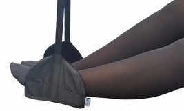 Sleepy Ride Airplane Footrest Hammock Sling Foot Rest International Travel  - $14.66 CAD