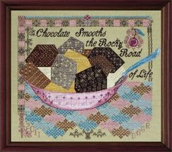 Quaker Rocky Road cross stitch chart Tempting Tangles  - $13.50