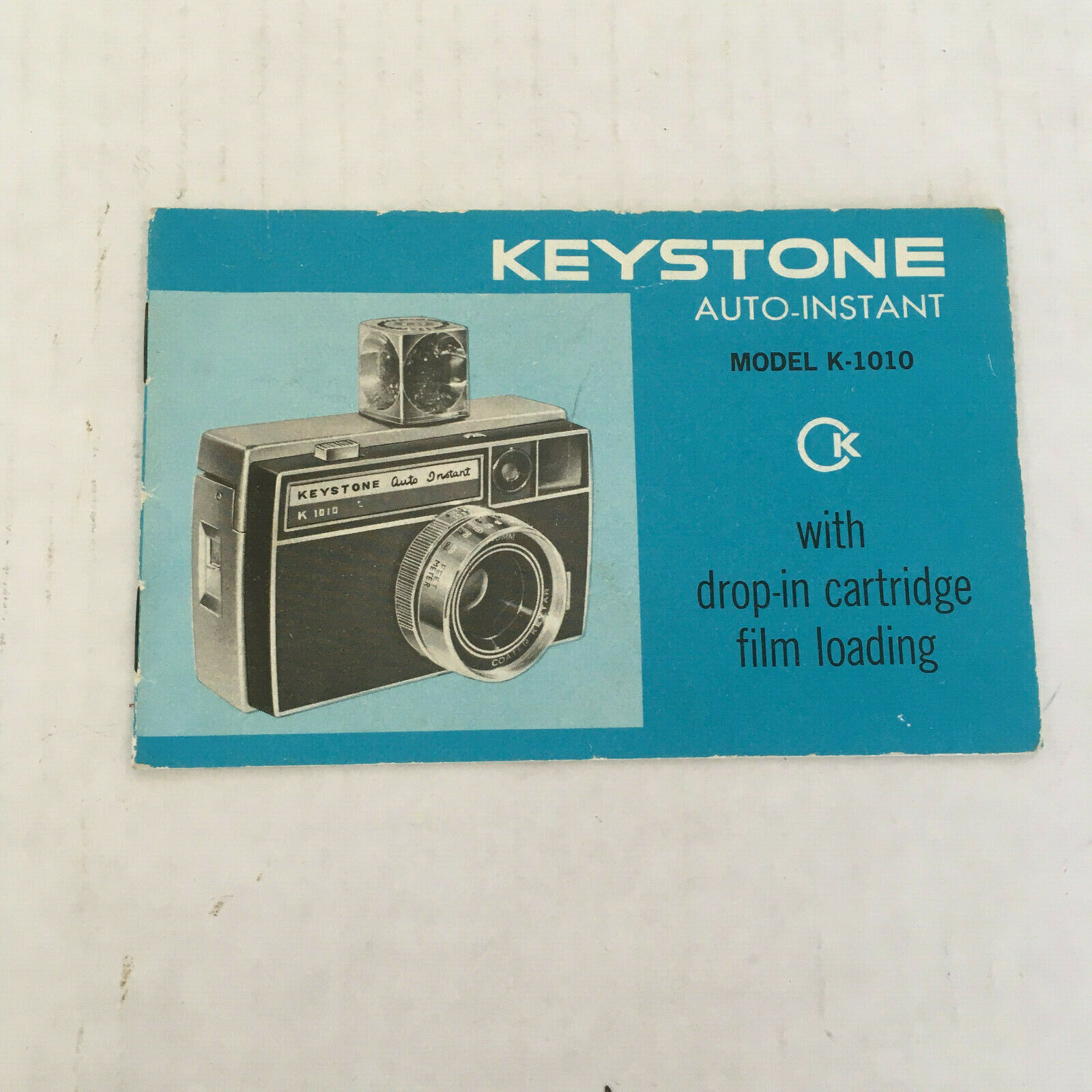 Primary image for Vintage keystone auto instant camera model K - 1010 user manual  guide booklet