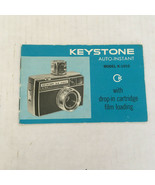 Vintage keystone auto instant camera model K - 1010 user manual  guide b... - $19.75