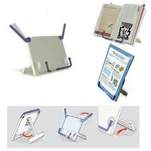 Portable Book Stand bookstand Music Cookbook Holder - $14.24