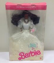 1989  WEDDING FANTASY Barbie Doll w/ Lingerie NRFB African American Bride - $29.70