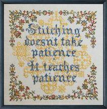 Patient Stitcher cross stitch chart Tempting Tangles - $13.50