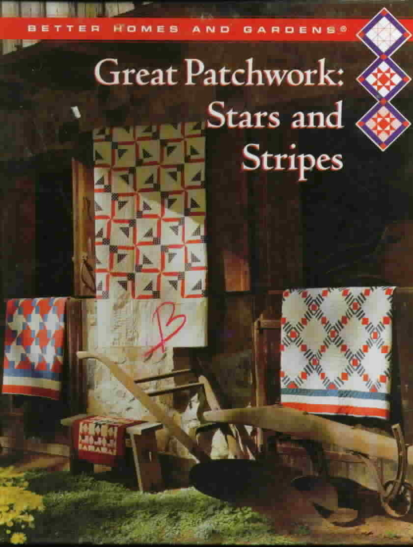 Great patchwork stars and stripes