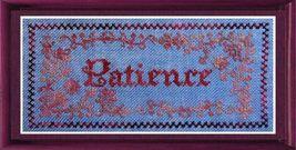 Patience cross stitch chart Tempting Tangles - $6.75