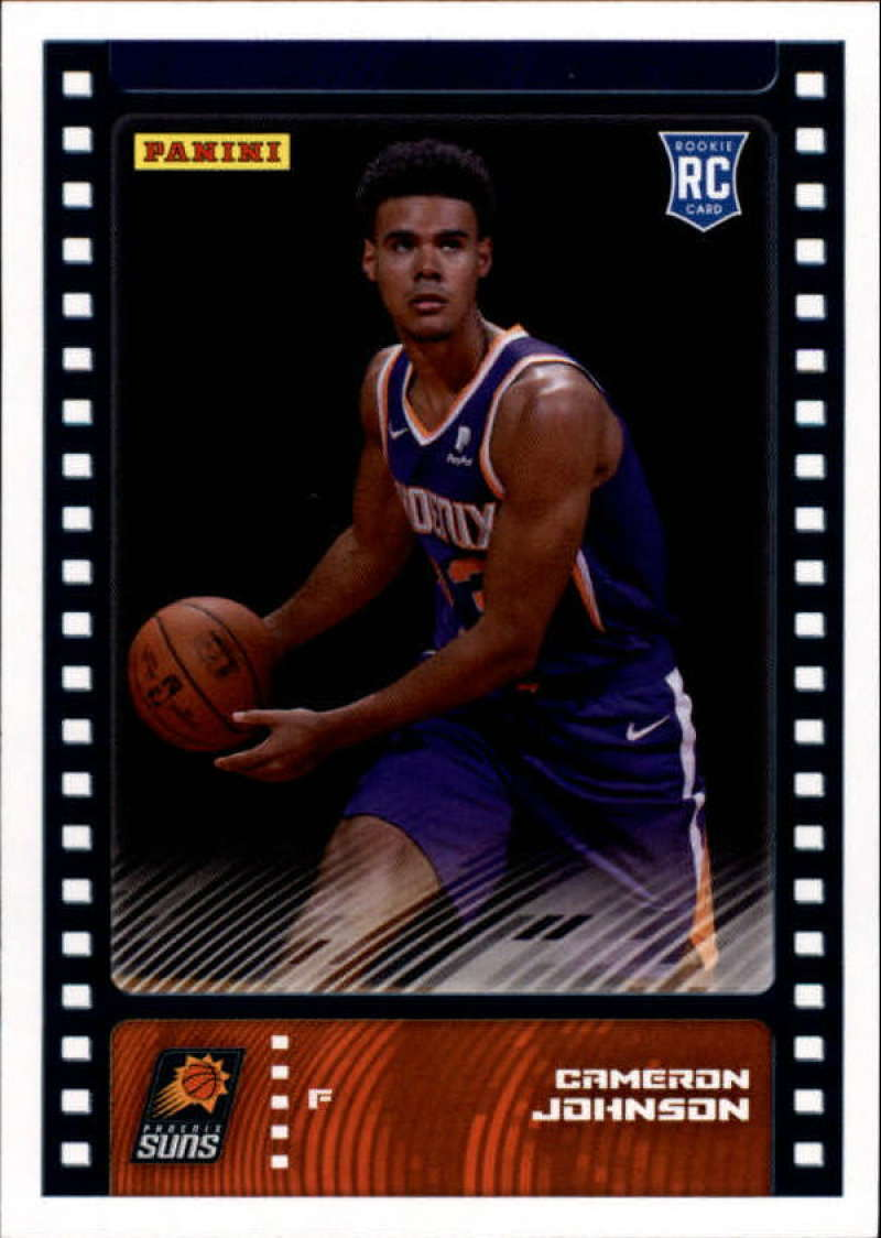 Primary image for 2019-20 Panini NBA Sticker Box Standard Size Insert #89 Cameron Johnson Phoenix