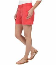 Calvin Klein Jeans Women's Linen Shorts Porcelain Rose  Sz 6   ret $59 - $14.79