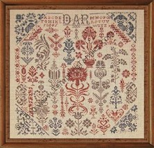 Panoply of Posies cross stitch chart Tempting Tangles  - $13.50