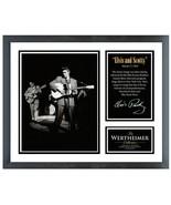 "Elvis Presley ""The Wertheimer Photo Collection"""" 11""x14"" Framed Memories - $48.99"