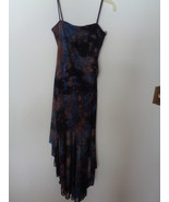 Candy Rocket Dress Blue Brown Black has Sparkles Size Small 55961 High L... - $34.99