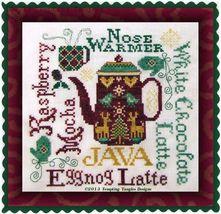 Nose Warmer cross stitch chart Tempting Tangles - $8.55
