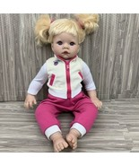 Lee Middleton Original Doll By Reva 1998 Blonde Hair Pigtails 19 Inches - $72.99