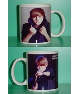 Justin Bieber 2 Photo Designer Collectible Mug 01 - $14.95
