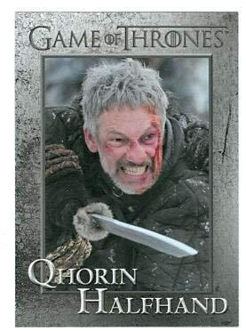 Primary image for Game of Thrones trading card #70 2013 Qhorin Halfhand