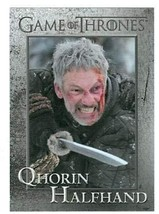 Game of Thrones trading card #70 2013 Qhorin Halfhand - $4.00