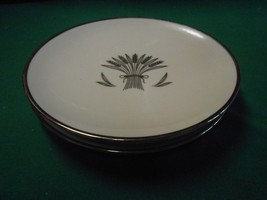 Magnificent  Vintage FRANCISCAN Fine China REGENCY Set of 3 BREAD Plates... - $12.19