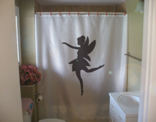 Primary image for Shower Curtain fairy frolic gossamer wing dance magic