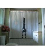 Shower Curtain male gymnast on bar balance gymnastics - $67.90