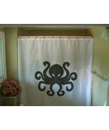 Shower Curtain octopus eight leg sea creature tentacle - $64.99