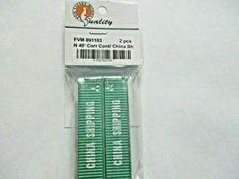 Fox Valley Models # FVM 891103 China Shipping 40' Corrugated Container 2/Pack (N image 3