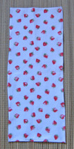 Violin Blanket/Flannel Strawberry Print/Fiddle/1/8 Size/Children's - $11.95