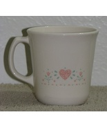 3 Retired Corelle Forever Yours Coffee Tea Cups Mugs  - $6.00