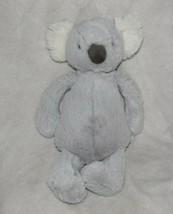 "Jellycat Medium Bashful Koala Bear Soft Toy Comfort Baby Gray Beanbag Bean 12"" - $29.69"