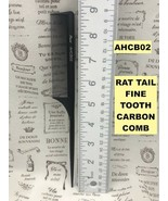 ABSOLUTE NEW YORK  PROFESSIONAL RAT TAIL FINE TOOTH CARBON COMB  AHCB02 - $1.97