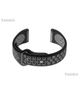 Black and Gray Sport Fitness Band Strap for Fitbit Versa with Quick Rele... - $17.99