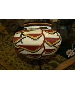 Wounaan Darien Indian Hösig Di Museum Quality Artist Basket Bird Paradis... - $664.99