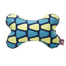 Cute Cartoon Dog Bone Series [Blue Triangle] Car Headrest/Car Neck Pillow