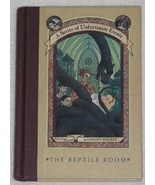 A Series of Unfortunate Events The Reptile Room Book 2  - $6.50