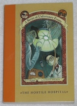 A Series of Unfortunate Events The Hostile Hospital Book 8 - $3.75