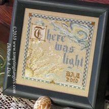 First Light cross stitch chart Tempting Tangles  - $10.80