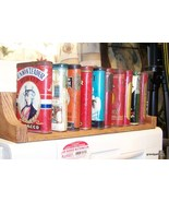 Lot of ten old Antique tobacco advertising Tins - $320.00