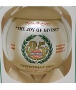 Harley Davidson 85th Anniversary 1987 Christmas Ornament Ball The Joy Of... - £34.30 GBP