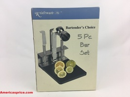 Kraftware Bartender's Choice 5 Pc. Bar Set - $19.99