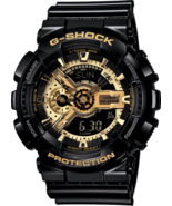 Casio G-Shock Men's Watch Limited Edition Black x Gold GA110GB-1A Wristwatch  - $79.99