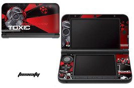 Skin Decal Wrap for Nintendo 3DS XL Gaming Handheld Sticker 12-15 TOXICI... - $13.81