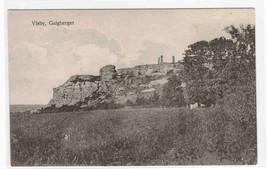 Galgberget Visby Gotland Sweden 1910c postcard - $6.44