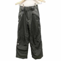 TNF Boys snow ski pants M 10/12 gray North Face - $61.45