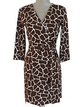 Diane Von Furstenberg DVF New Julian Two Wrap Dress - NWT Size 4 - $103.95