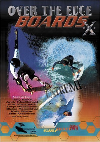 Boards X Over The Edge Dvd