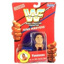 Yokozuna WWF 1997 Playmates Toys Ringmasters WWE Mini Figure Sealed - $7.87